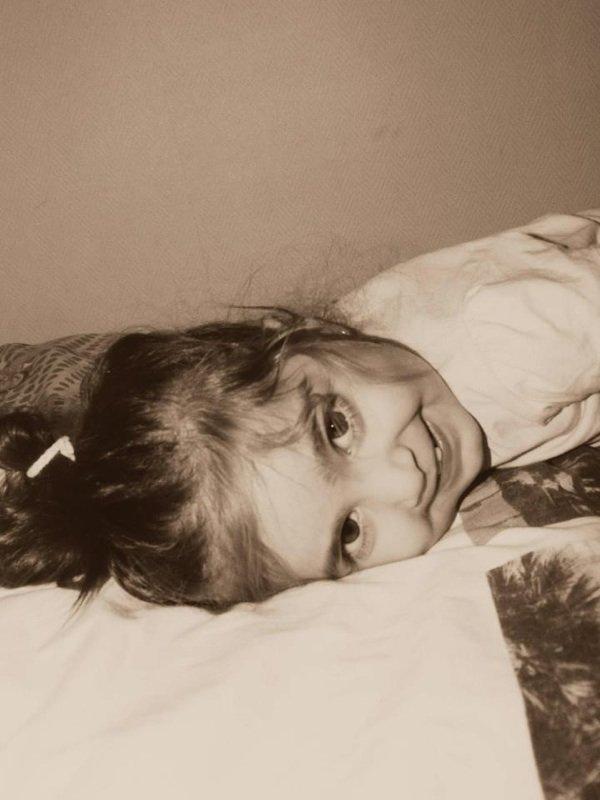My angel.