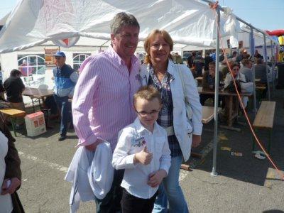 je suis en présence de jc lahaye et de sa femme francisca a chatelineau en belgique