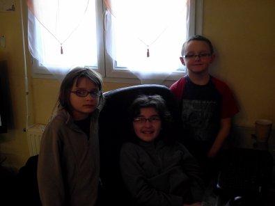 moi et deux filles qui sont adorable