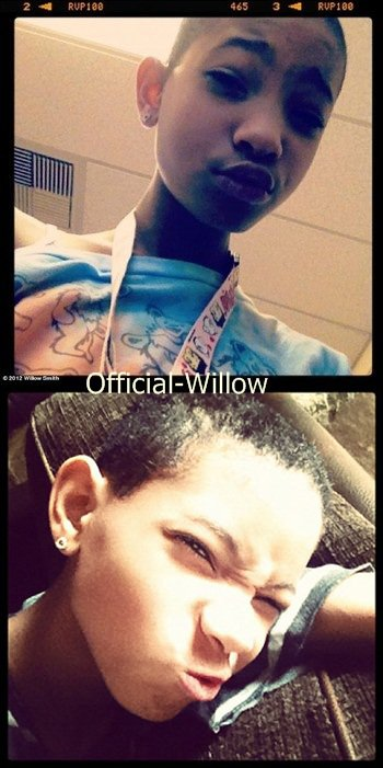 OMG  !!! Willow Smith rase sa tete