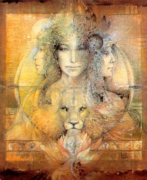 Chapitre XV. Liste des Déesses que vous pouvez évoquer lors d'un rituel magique.