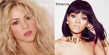 Shakira//Rihanna
