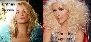 Britney Spears//Christina Aguilera