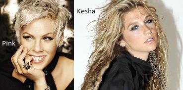 Pink//Kesha
