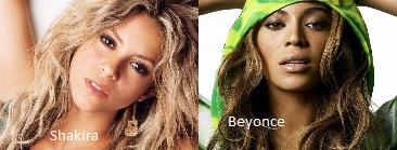 Shakira//Beyonce