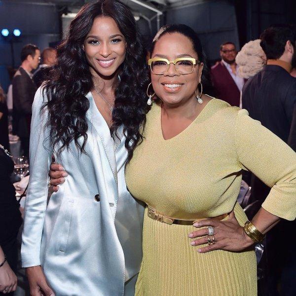 Ciara Matama And Oprah Matama