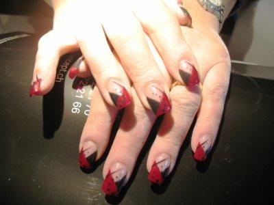 Maryella déco rouge et noir
