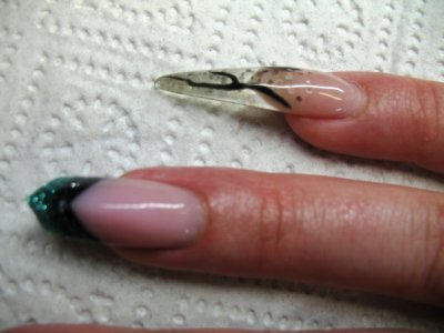 stiletto nail'art