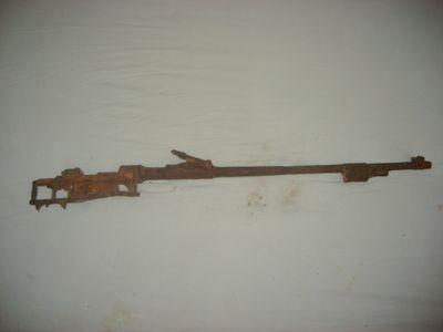 Fusil K98 trouvé