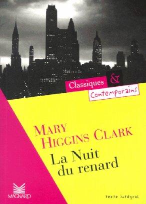 - La nuit du renard de Mary Higgins Clark ________________ -