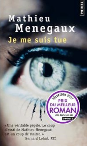- Je me suis tue de Mathieu Menegaux ________________ -