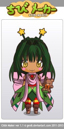 Chibi pour le concours de EstelleTrancy ~