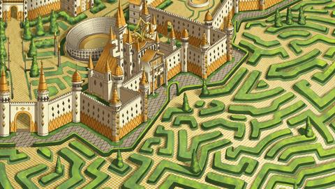 DnknA WWW - Official Visual Fan Book ~ Fiches personnage : Le territoire du Château de Diamant