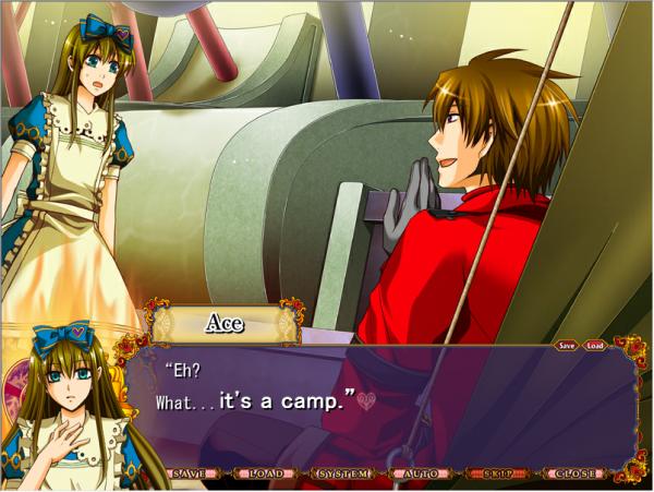 """Heart no kuni no Alice : Route Ace - Partie 2 : Ce n'est pas """"quelqu'un de bien""""."""