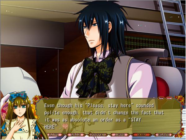Heart no kuni no Alice : Route Blood - Partie 2 : Blood est un chat