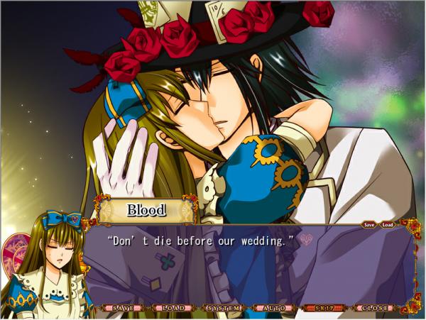 Heart no kuni no Alice : Route Blood - Partie 6 : MARIAGE ?! (Fin)