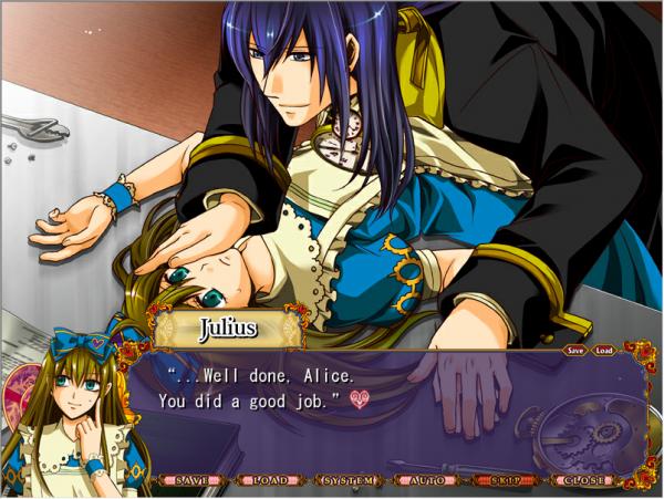 Heart no kuni no Alice : Route Julius - Partie 3 : De plus en plus proches ...