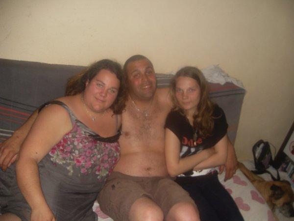 ma soeur, damien et moi