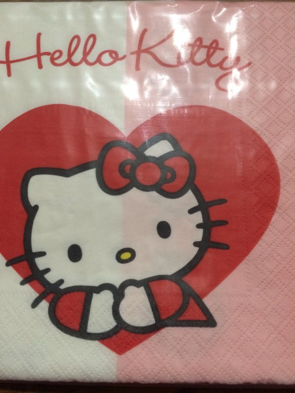 Enfant 2 Hello Kitty Face A et Face B