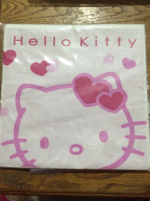 Enfant 1 Hello Kitty Face A et Face B
