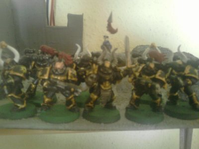 Figurines (Esc Marines du Chaos 1)