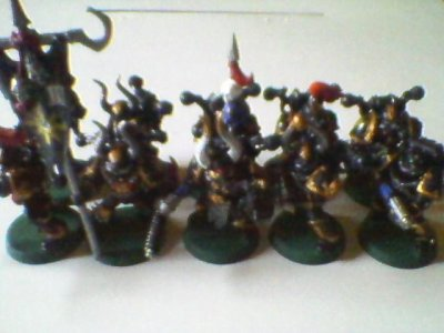 Figurines ( Esc Marines du Chaos,ex Possédés)