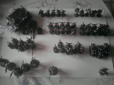Figurines (Ma Black Legion,ma fierté)