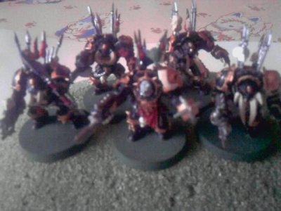 Figurines Terminators du Chaos(new)