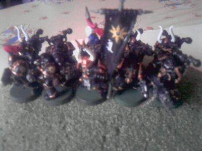 Figurines Esc Marines du Chaos 1(new)