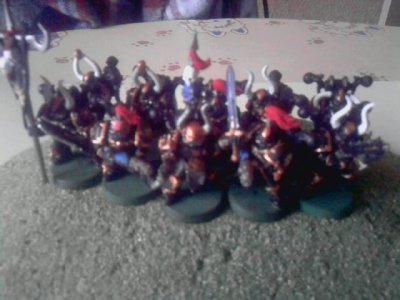 Figurines Esc Marines du Chaos 2(new)