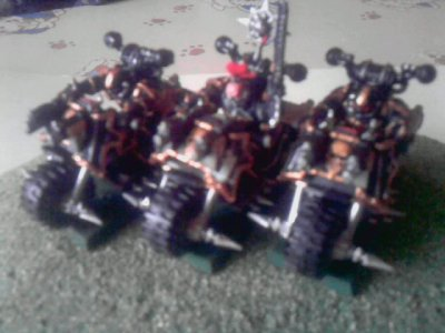 Figurines Motards du Chaos(new)