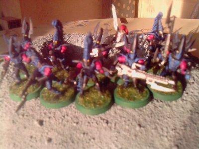 Escouade de Cabalites Eldars Noirs 1