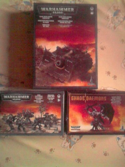 Renforts Space Marines du Chaos