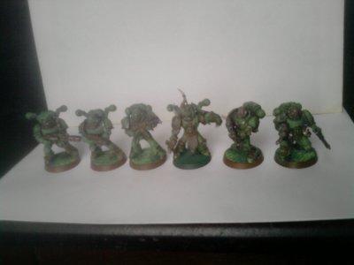 Recyclage d'Ultramarines; Marines de la Peste