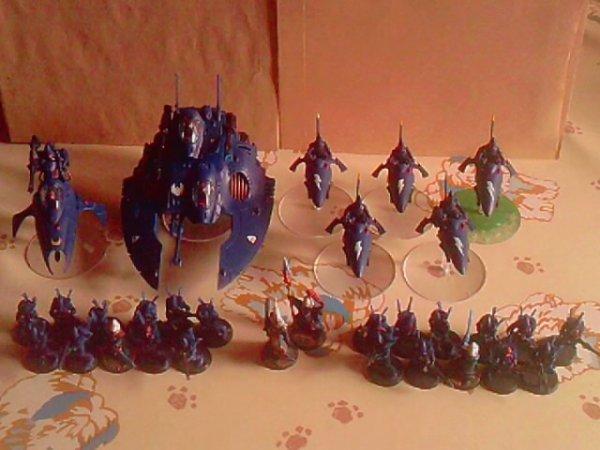 Nouvelle armée: Eldars