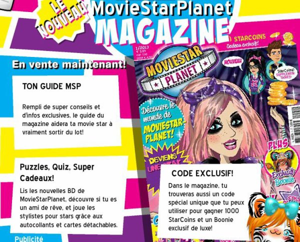 moviestarplanet magazine *---* ♥