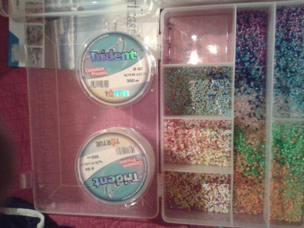 1000 perles de 2 et 3 mn