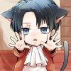 Voila mon chat :3 il est mignon hein ? X)