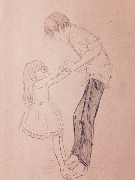 Levi et Mikasa