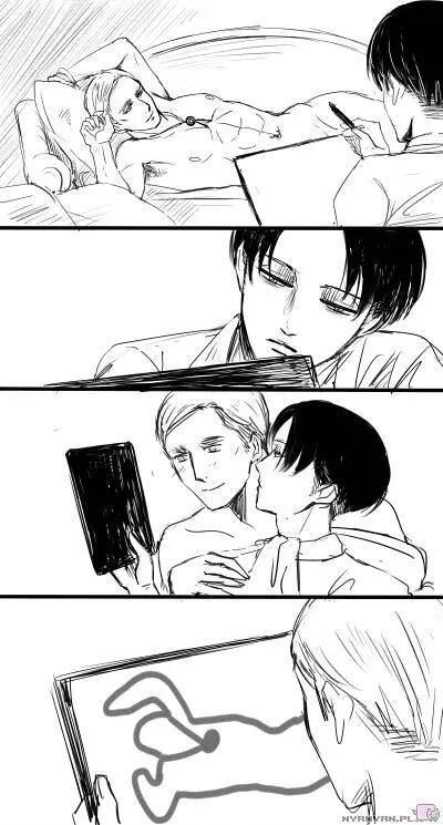 Séance de dessin avec erwin 눈_눈