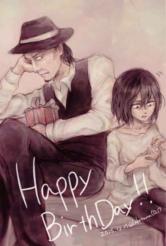 Joyeux anniversaire Levi !