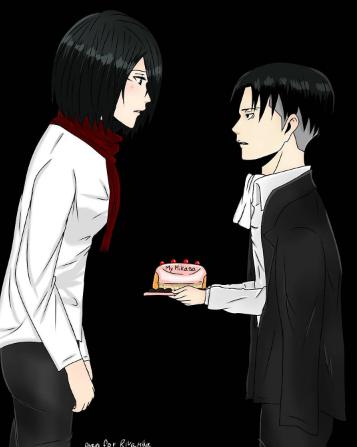 L'anniversaire de la merdeuse Mikasa