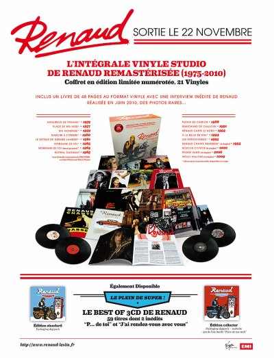 """Plan média - Intégral Vinyl et Best of  """"le plein de super"""""""