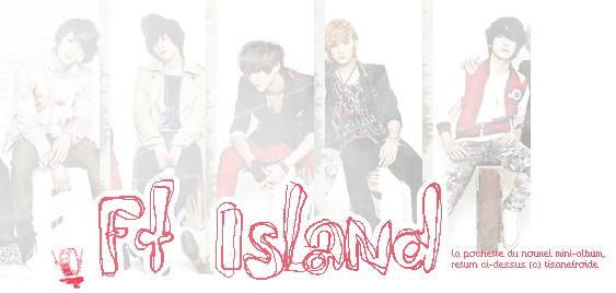 8888888888FIVE TREASURE ISLAND...un groupe qui me fait rêver ☆ 8888888888TisaneFroide®