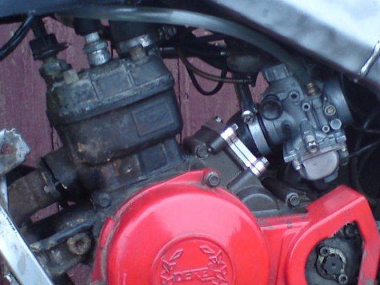 vue du bloc moteur