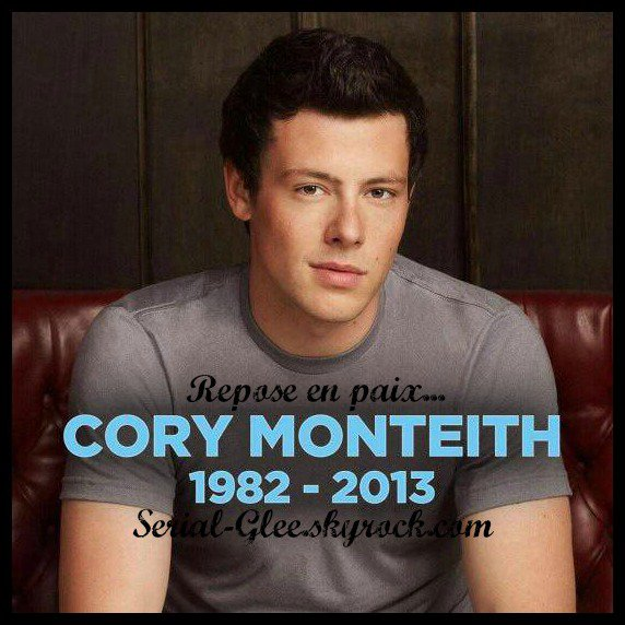 HOMMAGE (Cory Monteith)