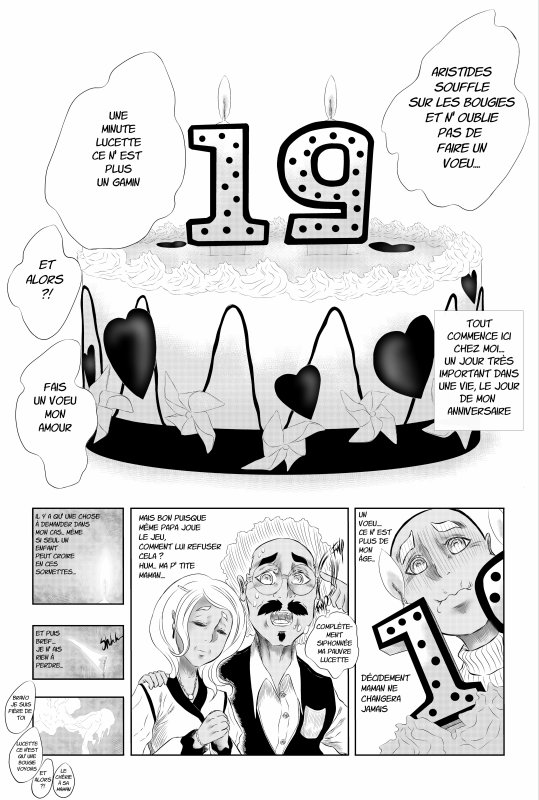 My rentrée LOVE story - Humour - Manga en ligne ( extrait )