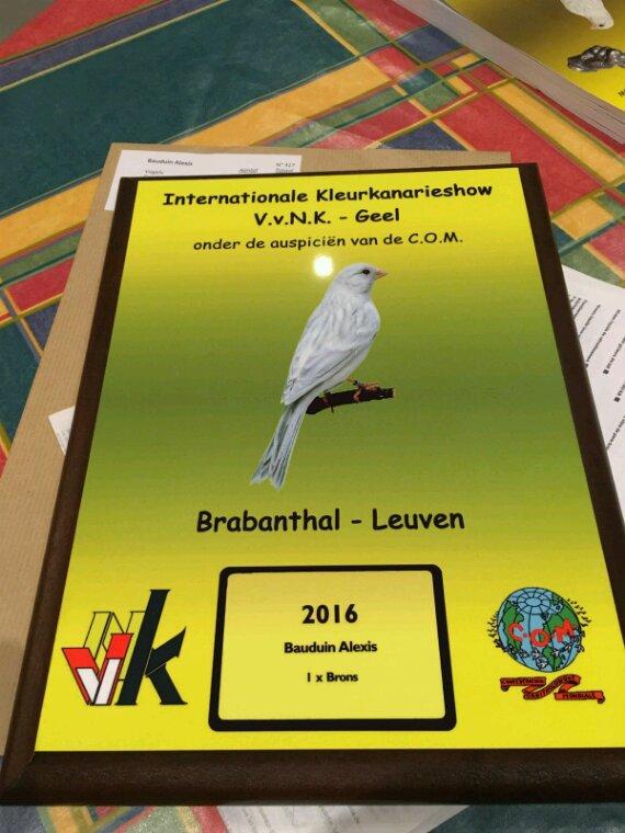Premier titre à Louvain !