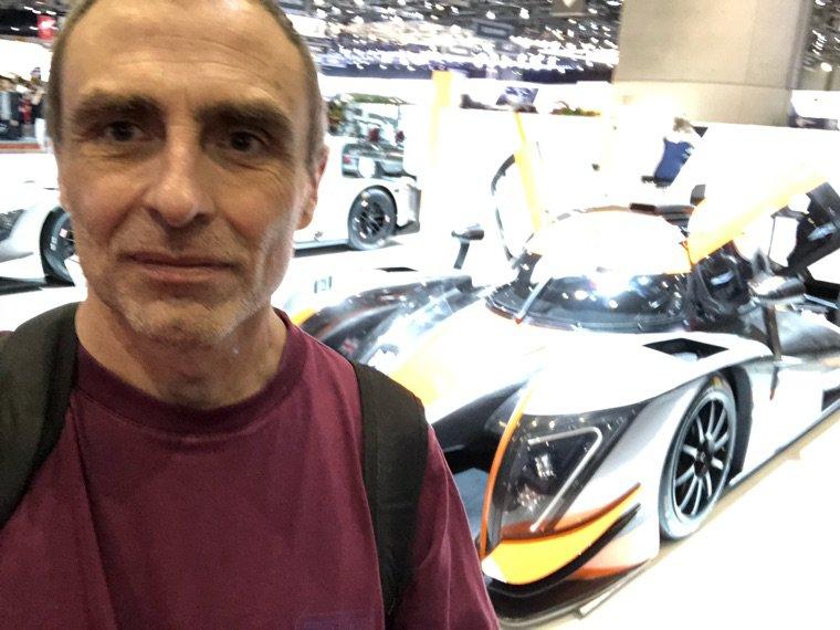 En direct du salon de l'automobile à Genève