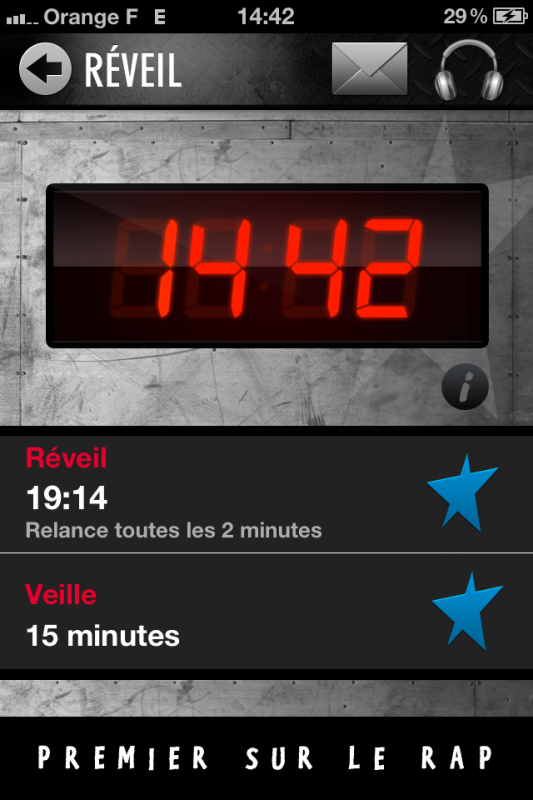 L'application Skyrock